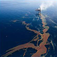 The Montara Oil Spill in the Timor Sea has lasting, damaging effects on that environment
