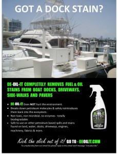 Dock-Stain-Remover