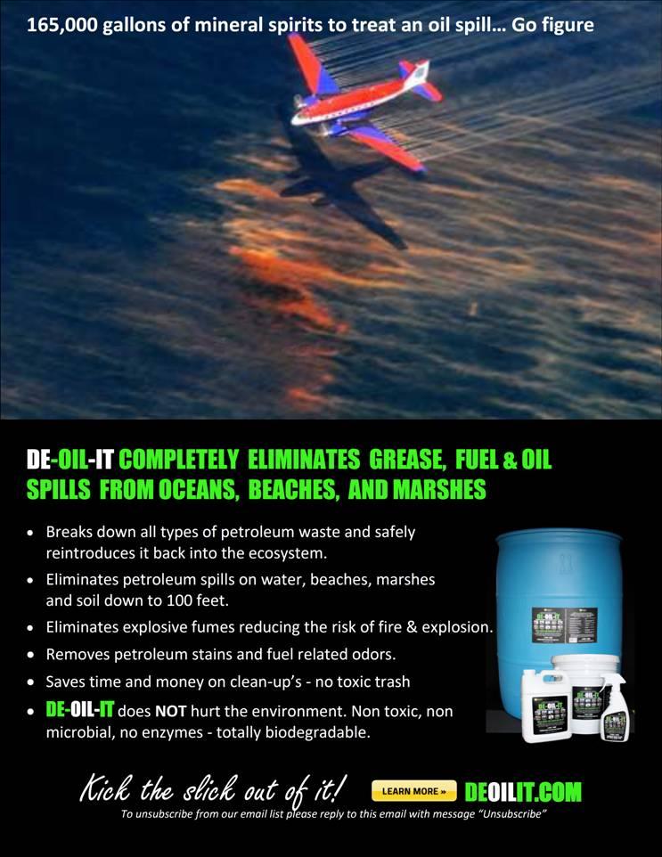 Horrific Injuries Linked to BP Dispersant Corexit | DE-OIL-ITDE-OIL-IT