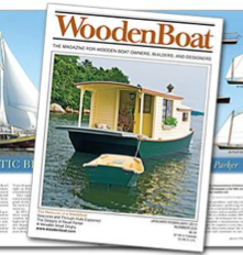 Wooden Boat Review of DE-OIL-IT as a boat, engine, and bilge cleaner