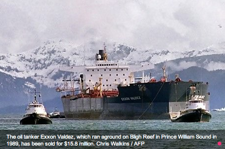 The Exxon Valdez spill caused an estimated US$15 billion of damage and prompted a fundamental rethinking of tanker design.