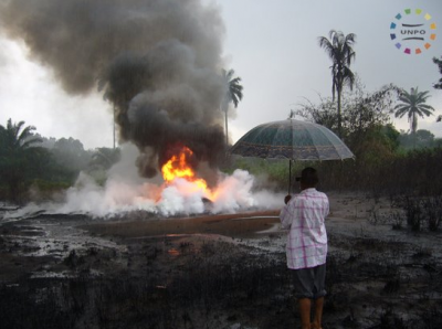Oil spill in Nigeria affected the livelihood of thousands of Africans.