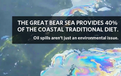 The threat of oil in our oceans can be devastating if the majority of local diet consists of seafood